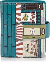 Shagwear Trendy & Funky Compact Vrouwen Portemonnee - Vintage Bakery / Bakkerji (0548sm)
