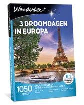 Wonderbox Cadeaubon - 3 Droomdagen in Europa