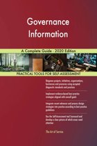 Governance Information A Complete Guide - 2020 Edition