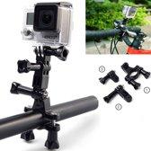 Fiets / Mountainbike / Motor Mount + Tripod voor GoPro 4 3+ 3 2