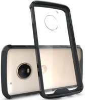 Hybrid Armor Case - Motorola Moto G5 Plus - Zwart