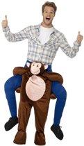 Instap dierenpak kostuum aap voor volwassenen - apenpak
