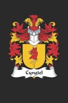 Cyngiel: Cyngiel Coat of Arms and Family Crest Notebook Journal (6 x 9 - 100 pages)