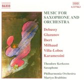 Music For Saxophone &Orchestra