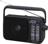 Panasonic RF-2400D radio Draagbaar Analoog Zwart