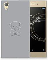 Sony Xperia XA1 Plus Uniek TPU Hoesje Baby Olifant