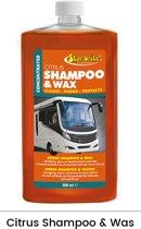 Star brite Citrus shampoo & wax | Camper & Caravan 500ml (concentraat)