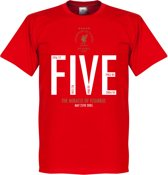 The Miracle of Istanbul Liverpool T-Shirt - XXXL