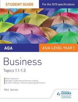 AQA AS/A Level Business Student Guide 1