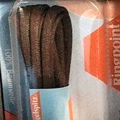 Ronde middel bruine wax veter van 120cm lang