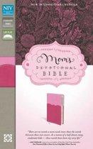 NIV, Mom's Devotional Bible, Leathersoft, Pink