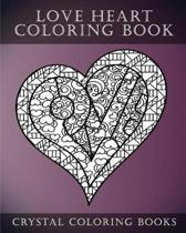 Love Heart Coloring Book
