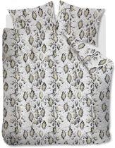 Comfortabel Katoen Dekbedovertrek Slangenhuid Grijs | 240x200/220 | Fijn Geweven | Ademend  En Zacht