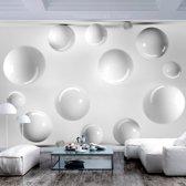 Fotobehang -Witte Ballen