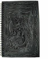 Dragon Kingdoms notitieboek grijs - Fantasy - Nemesis Now