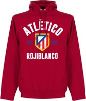 Atletico Madrid Established Hooded Sweater - Rood - M