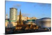 Prachtige stadsfoto van Birmingham in het graafschap West Midlands Aluminium 60x40 cm - Foto print op Aluminium (metaal wanddecoratie)