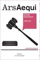 Boek cover Ars Aequi Jurisprudentie - Jurisprudentie Inleiding Privaatrecht 1905-2019 van