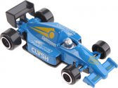 Johntoy Raceauto Lightspeet Clvsh Blauw 7,5 Cm