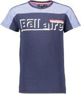 Bellaire Jongens KarsB T-shirt - Blauw - Maat 134/140