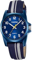 Calypso K5707/7 Kinderhorloge - Polshorloge - Kunststof - Blauw - Ø 32mm