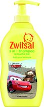 Zwitsal Jongens 2 In 1 Shampoo & Douche Gel Cars - 400 ml - Kids