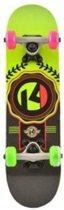 Kryptonics Skateboard 23 Inch Lockerboard Sealed Multicollor