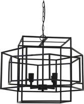 Light & Living Hanglamp DALISIA mat zwart 4L 56 x 64 x 69