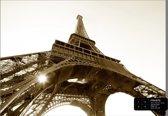 Dutch Wallcoverings Fotobehang Eiffel Tower B&W,  4-d