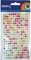 Diamantjes Create it parel multicolor mix