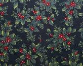 Kerst Vinyl Placemat | Hulst | 4 stuks
