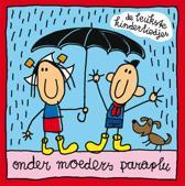 Boek de Leukste Kinderliedje - Onder Moeders Paraplu - Babette Harms - 21,5 x 21,5 x 1,7 cm