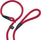 Nobby fun retriever lijn lijn en halsband in 1 rood 1,3 x 170 cm - 1 st