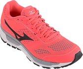 Mizuno Synchro MX  Hardloopschoenen - Maat 41 - Vrouwen - roze/zwart/wit
