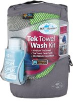 Handdoek Tek Towel Wash Kit M