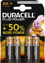 Duracell AA Plus Power - 4 stuks