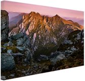 Berg Orion Australie Canvas 30x20 cm - Foto print op Canvas schilderij (Wanddecoratie woonkamer / slaapkamer)