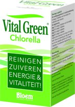 Bloem Vital Green Chlorella - 1000 Tabletten - Voedingssupplement