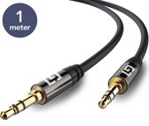LifeGoods Stereo Audio Jack Kabel 3.5 mm - 1 meter