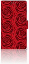 Sony Xperia XA2 Ultra Bookcase Red Roses