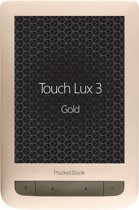 Pocketbook Touch Lux 3 Touchscreen 4GB Wi-Fi Goud e-book reader