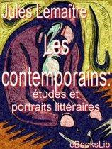 Les contemporains : études et portraits littéraires