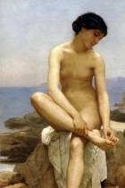 The Bather by William-Adolphe Bouguereau - 1879