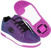 Chaussures À Roulettes Heelys Up Double Coeurs - Chaussures De Sport - Enfants - Taille 34 - Filles - Rose nr8iarkj