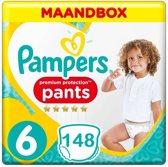 Pampers Premium Protection Maat 6 - 148 Luierbroekjes Maandbox
