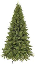 Triumph Tree smalle Franse kunstkerstboom forest frosted maat in cm: 155 x 86 groen