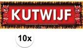 10x Sticky Devil Kutwijf grappige teksen stickers