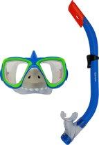 Tunturi Kinder snorkelset - Duikbril en snorkel - Haai