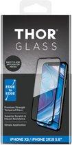 THOR Full Screenprotector + Apply Frame voor de iPhone 11 Pro / iPhone X(s) - Zwart