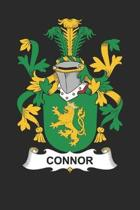 Connor: Connor Coat of Arms and Family Crest Notebook Journal (6 x 9 - 100 pages)